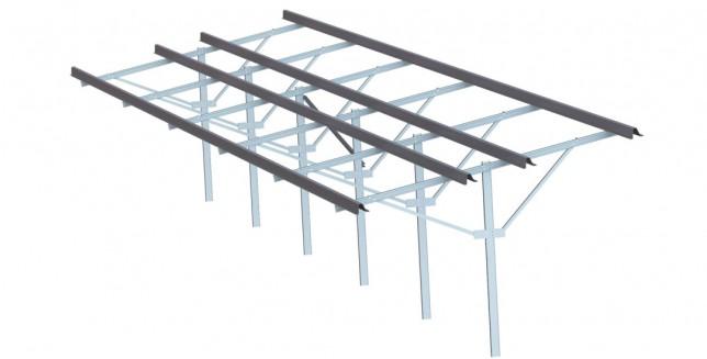hat-c1- Solar panel Structure