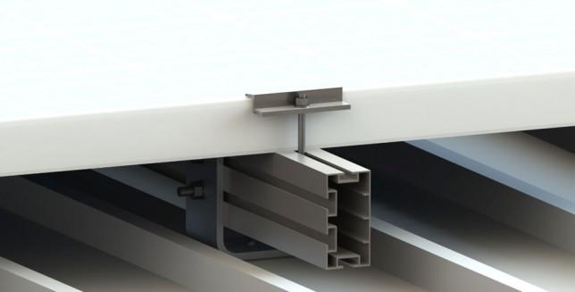 I+Aluminum rooftop system