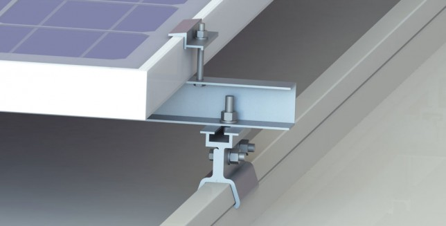 kliplock rooftop mounting